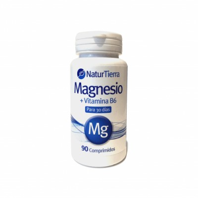 Naturtierra Cápsulas Naturtierra Magnesio + B6