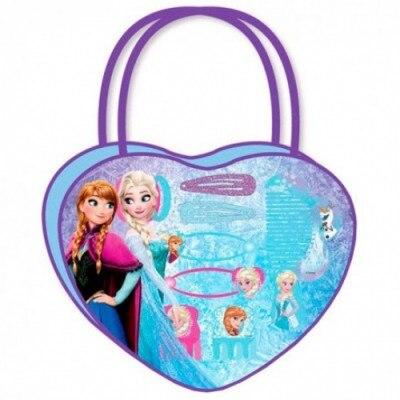 Frozen Bolso Corazón Con Accesorios De Cabello