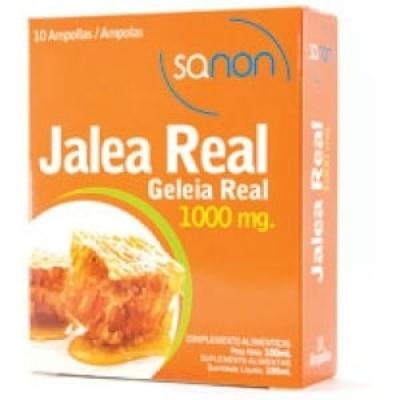 Sanon Sanon jalea real 1000 mg 10 ampollas