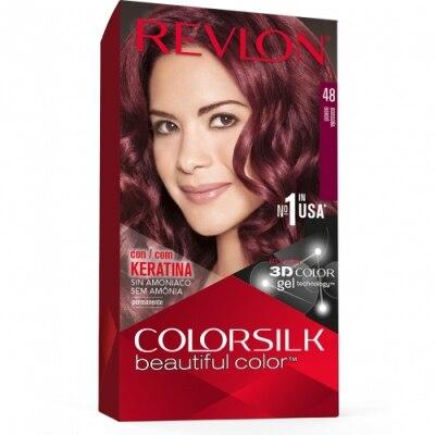 Color Silk Tinte Capilar Color Silk Nº 48 Borgoña