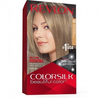 Color Silk Revlon Tinte Capilar Nº60 Rubio Oscuro Ceniza