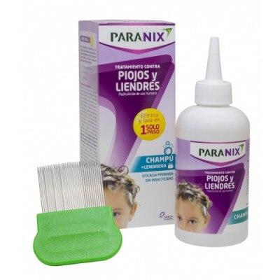 Paranix Paranix champú tratamiento contra piojos y liendres