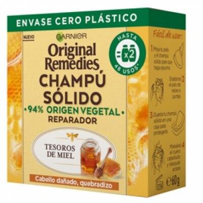 Original Remedies Original Remedis Champú Solido Tesoros de Miel
