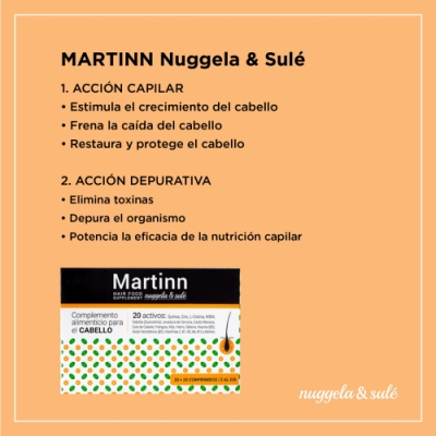 Nuggela & Sulé Martinn Complemento Alimenticio