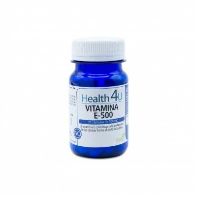 H4u Health 4U Vitamina E-500
