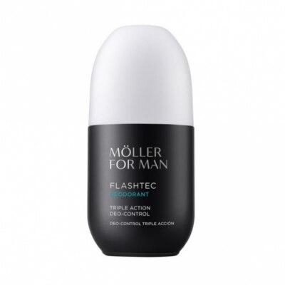 Anne Moller-men Moller Desodorante Control Triple Accion Flashtecc