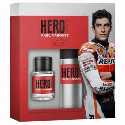 Hero Sport Estuche Hero Sport Colonia Más Desodorante