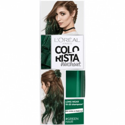 Colorista Tinte Colorido Washout 20 Green Hair