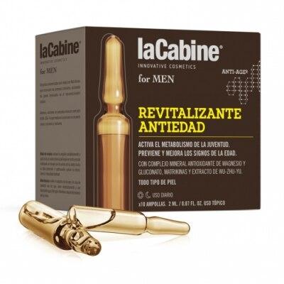La Cabine La Cabine Men Ampollas Revitalizante Antiedad