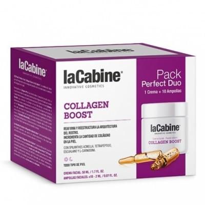 La Cabine La Cabine Perfect Duo Collagen Boost Crema y Ampollas