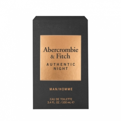 ABERCROMBIE+FITCH Abercrombie & Fitch Authentic Night Men Eau de Toilette