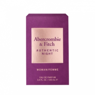 ABERCROMBIE+FITCH Abercrombie & Fitch Authentic Night Women Eau de Parfum