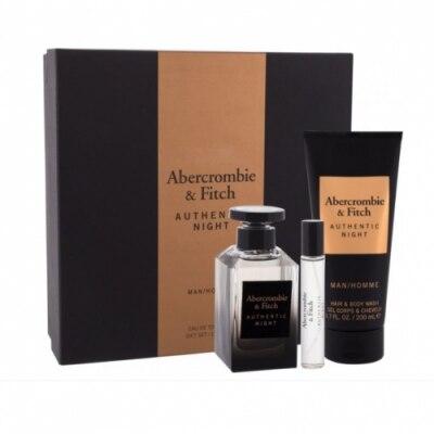 ABERCROMBIE+FITCH Estuche Abercrombie Autehentic Night Man