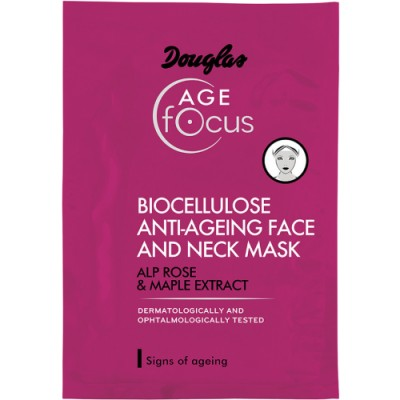 Douglas Focus Anti Aging Bio Cellulose Mask 18 Ml