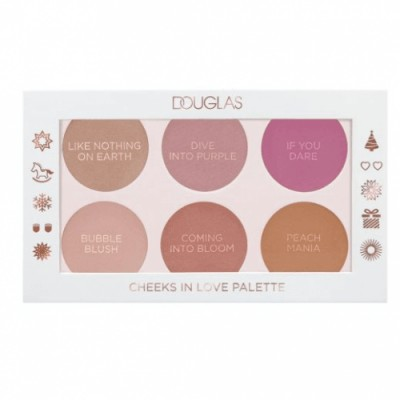 Douglas Make Up Paleta de Coloretes Cheeks In Love
