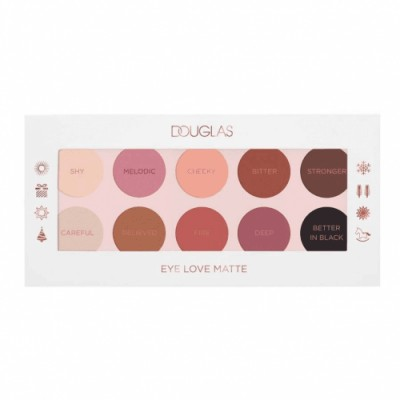 Douglas Make Up Paleta de Sombras Eye Love Matte
