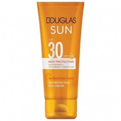 Douglas Sun Douglas Sun SPF30 High-Protection Sun Face Cream - Crema de Cara Alta Protección SPF 30