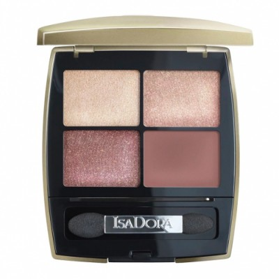 Isadora Isadora Eye Shadow Quartet Golden