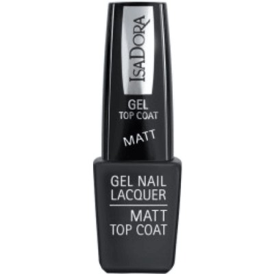 Isadora Gel Nail Lacquer Matt Top Coat