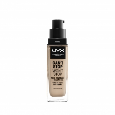 NYX Professional Makeup NYX Professional Makeup Base de Maquillaje Can't Stop Won't Stop Full Coverage Foundation