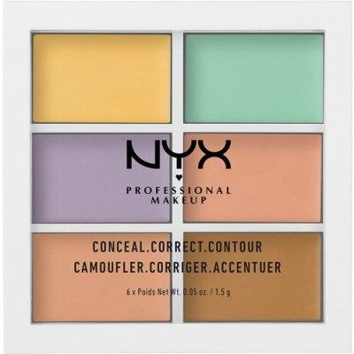 NYX Professional Makeup NYX Profesional Makeup Paleta de Correctores Color Correcting Concealer