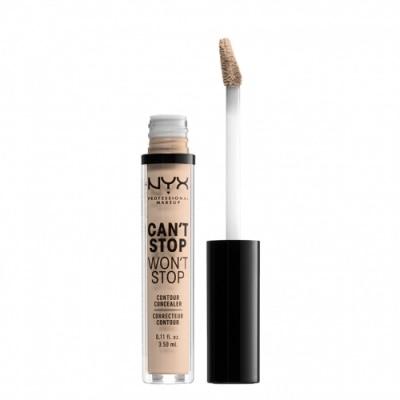 NYX Professional Makeup NYX Professional Makeup Corrector Waterproof Larga Duración Can't Stop Won't Stop
