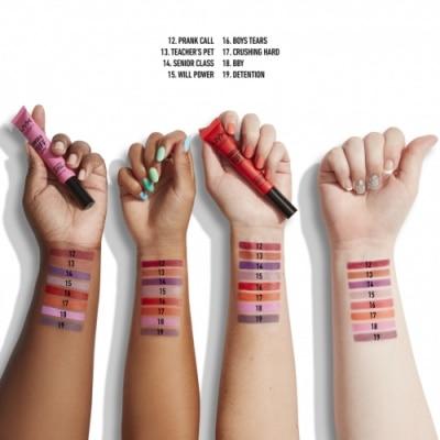 NYX Professional Makeup NYX Profesional Makeup Labial Mate y Empolvado Larga Duración Powder Puff Lippie