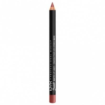 NYX Professional Makeup NYX Professional Makeup Perfilador de Labios Mate - Suede Mate Lip Liner