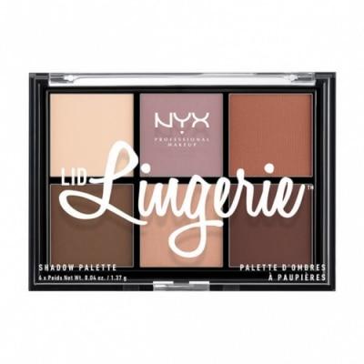 NYX Professional Makeup NYX Professional Makeup Paleta de Sombra de Ojos Lid Lingerie