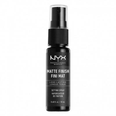 NYX Professional Makeup NYX Professional Makeup Spray Fijador de Maquillaje Setting Spray Matte Finish Mini