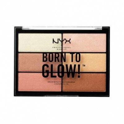 NYX Professional Makeup NYX Professional Makeup Paleta de Iluminadores Born To Glow