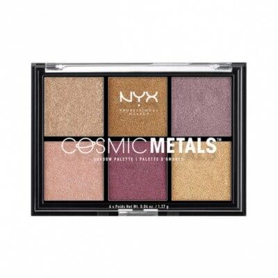 NYX Professional Makeup NYX Professional Makeup Paleta Sombras de Ojos - Cosmic Metals Shadow Palette