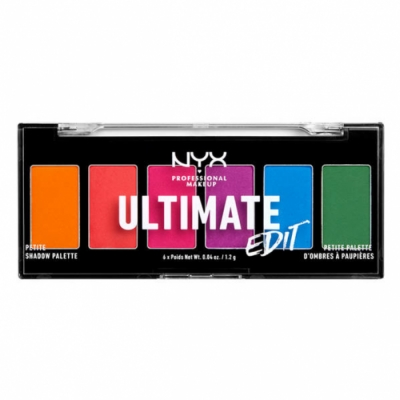 NYX Professional Makeup NYX Professional Makeup Paleta de Sombras de Ojos Ultimate Edit Petite Shadow