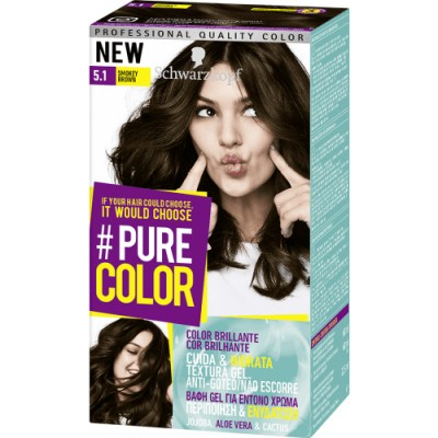Pure Color Schwarzkopf Tinte Capilar 5.1 Smokey Brown