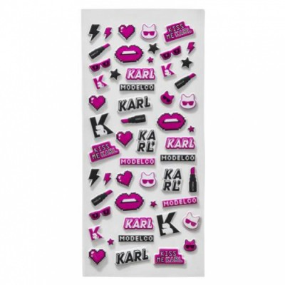 Karl Lagerfeld Kiss Me Karl Karl Lagerfeld Limited Edition Puffer Stickers