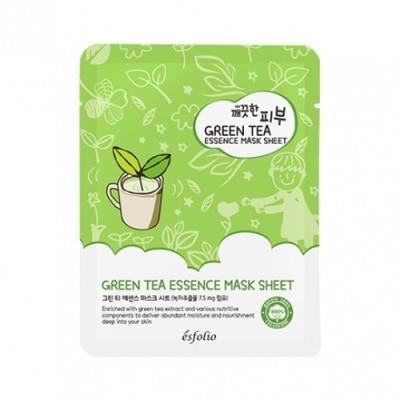 Esfolio Esfolio Pure Skin Green Tea Essence Mask Sheet