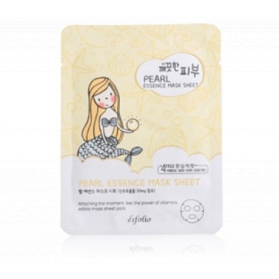 Esfolio Marcarilla Pure Skin Essence Mask Sheet Pearl 25 Ml