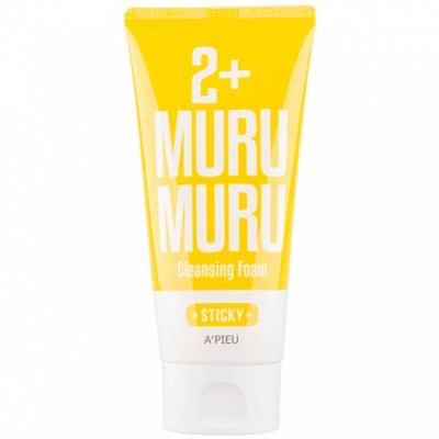 A'pieu 2+ Sticky Murumuru Cleansing Foam