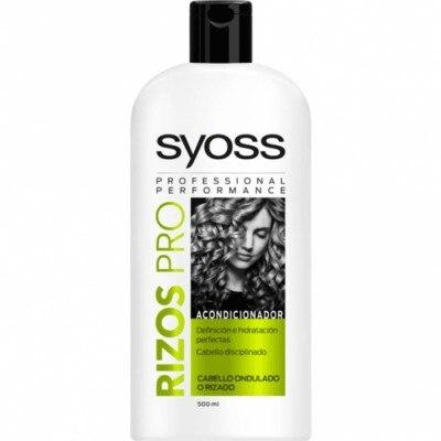 Syoss Rizos Pro Acondicionador Definición E Hidratación