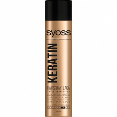 Syoss Spray Fijador Keratin