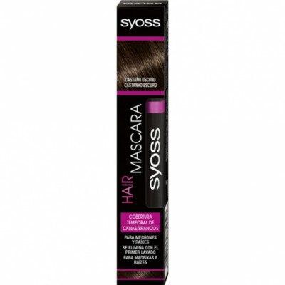 Syoss Syoss Hair Mascara Castaño Oscuro