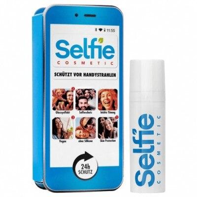 Selfie Cosmetic Selfie Cosmetic Azul Cian Locion facial