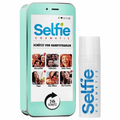 Selfie Cosmetic Selfie Cosmetic Azul Claro Locion facial
