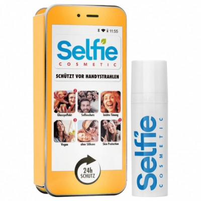 Selfie Cosmetic Selfie Cosmetic Naranja Locion facial