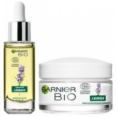 Bio Garnier Pack Bio Crema Lavanda y Aceite Lavanda