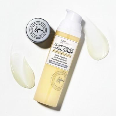 IT Cosmetics Confidence in a Gel Lotion™ - Crema Hidratante Ligera Rellenadora y Transforma