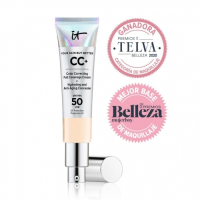 IT Cosmetics IT Cosmetics Your Skin But Better™ CC+™ SPF 50+ Crema correctora, antiedad y protección SPF 50