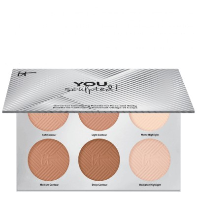 IT Cosmetics You Sculpted Paleta Universal Contouring Para Rostro Y Cuerpo