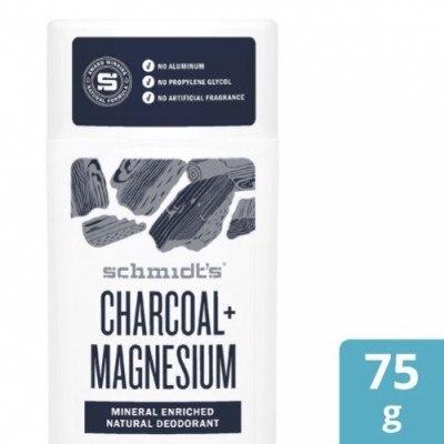 Schmidt's Schmidt's Desodorante Charcoal + Magnesium Stick