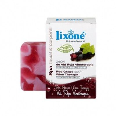 Lixone Lixona Jabón De Vid Roja Vinoterapia